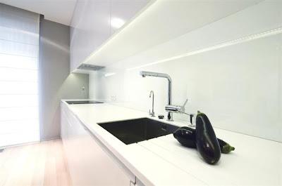 Desain Interior Minimalis Serba Putih 6