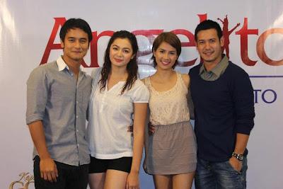 Angelito: Ang Bagong Yugto main cast - JM de Guzman, Charee Pineda, Kaye Abad and John Prats