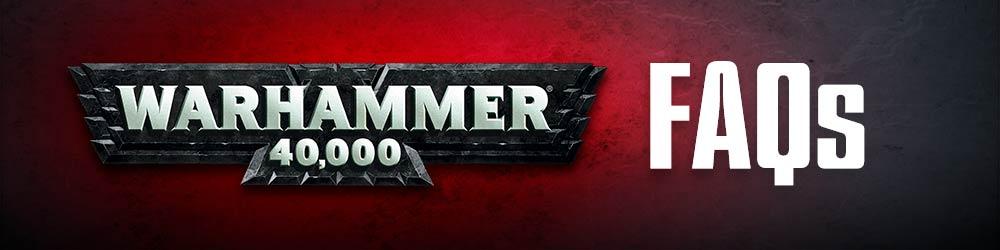 Warhammer 40k FAQ's Released