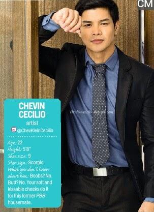 Chevin Cecilio - Cosmo 69 Bachelors 2014