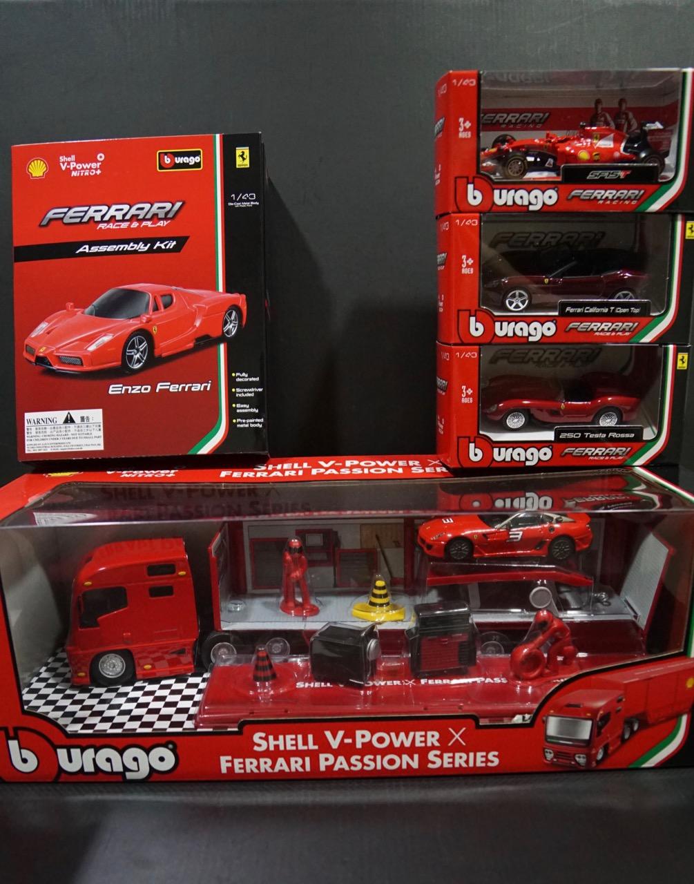 Alteregoistic Toy Blogger The Shell V Power X Ferrari