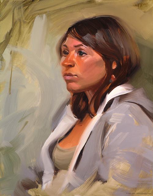 Amanda by Rob Rey - robreyfineart.com