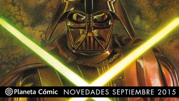 Planeta Cómic: Novedades para Septiembre de 2015
