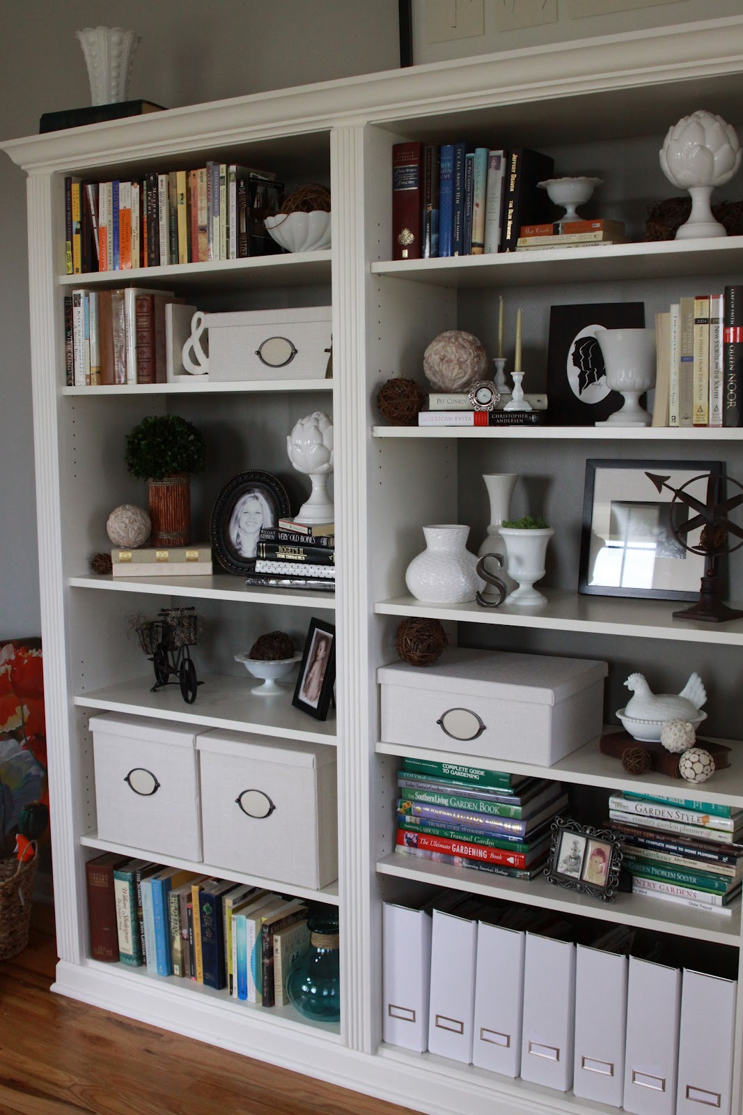 reinventing eden from ikea billy bookcase to built in gorgeousness. Black Bedroom Furniture Sets. Home Design Ideas