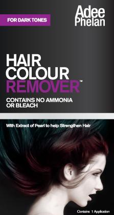 AEliminador de tinte Adee Phelan para cabellos oscuros