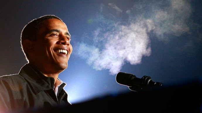 """marijuana is no more dangerous than alcohol,"" said obama"