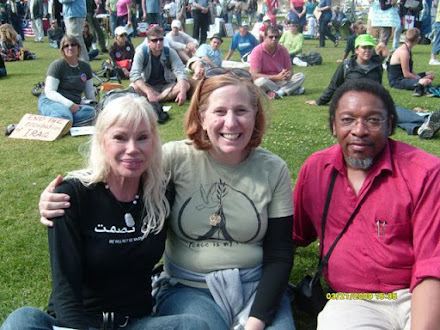Bree Walker Cindy Sheehan and Walter Davis