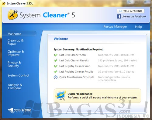 System Cleaner 5.9.5 Full Patch 2