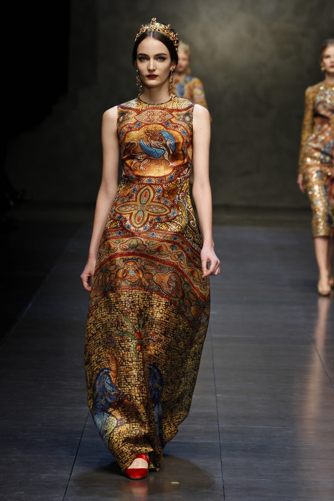 All the images were taken from official website of dolce amp gabbana