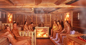 The Real Fight: German Sauna