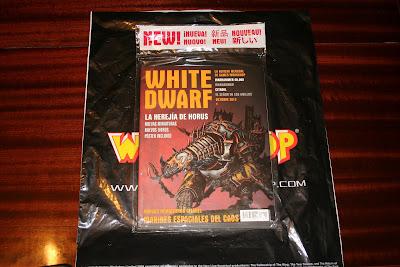 Revista White Dwarf 210 de octubre 2012