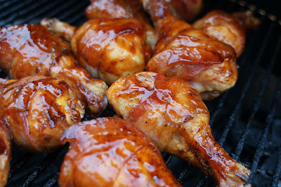 Chicken Drumsticks Wrapped in Bacon Recipe