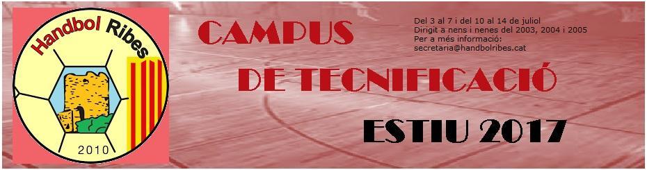 CAMPUS DE TECNIFICACIÓ