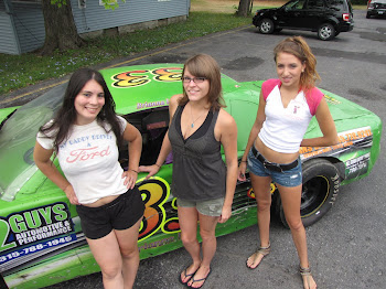 Brianna, Diana and Emily.....The Mayor's Racing Team ?