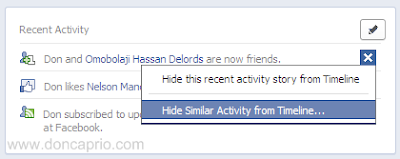 how to completely hide or limit your facebook timeline from your friends and public