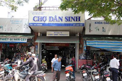 Entrée Dan Sinh marché