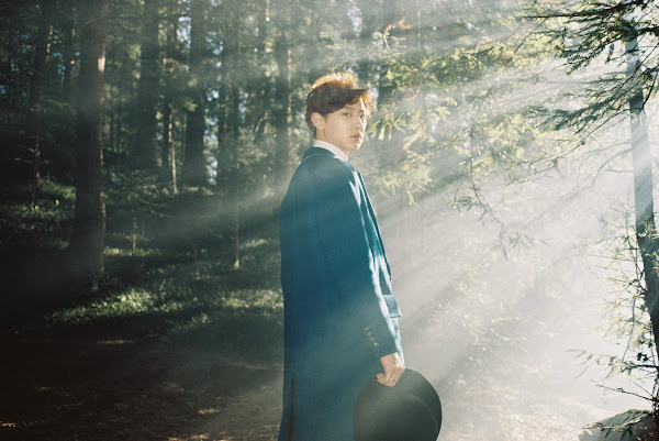 EXO's Chanyeol concept image from the EXODUS album