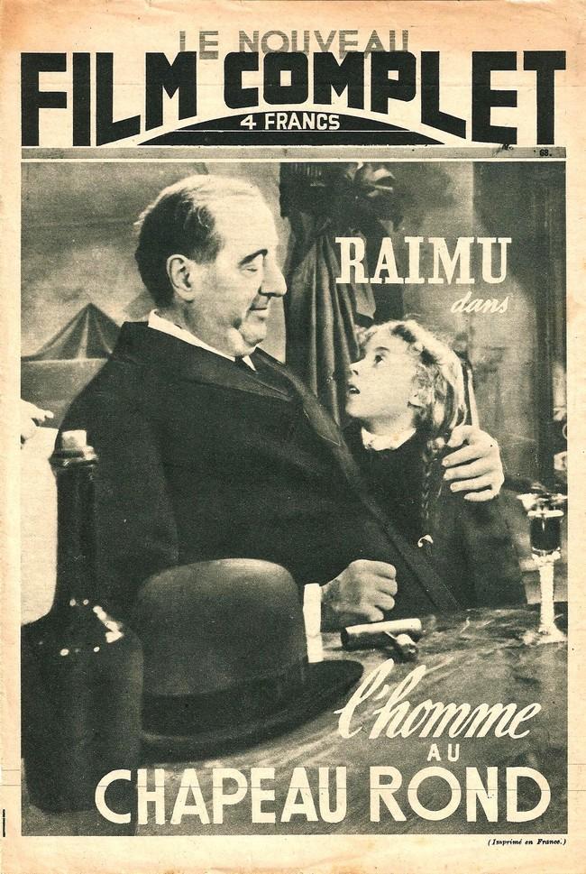 l 39 ge d 39 or du cin ma fran ais documents l 39 homme au chapeau rond 1947. Black Bedroom Furniture Sets. Home Design Ideas