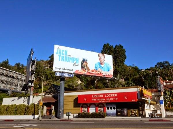 Jack and Triumph Show season 1 billboard
