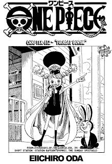 Page01 One Piece 651   Suara dari Dunia Baru