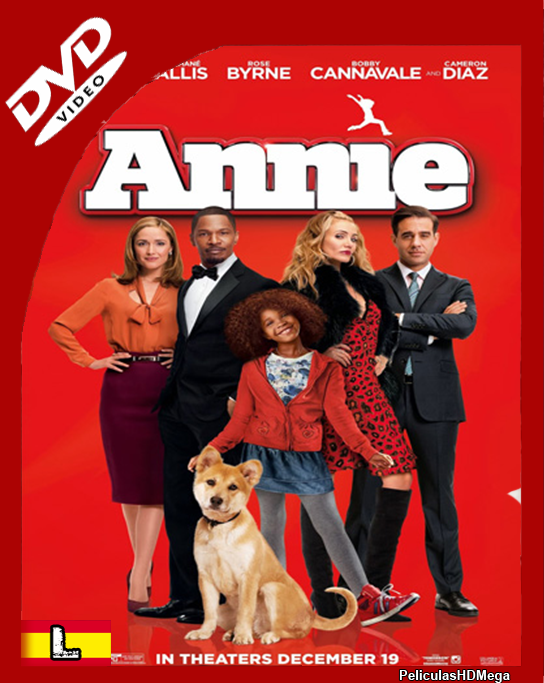 Annie (2014) DVDRip Español Latino