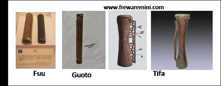 Alat musik tradisional Papua Barat & Papua