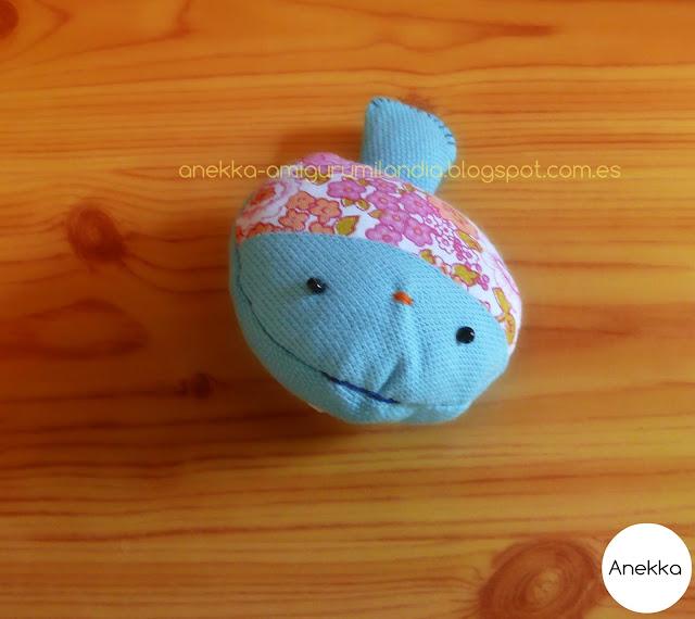 blue fish anekka handmade