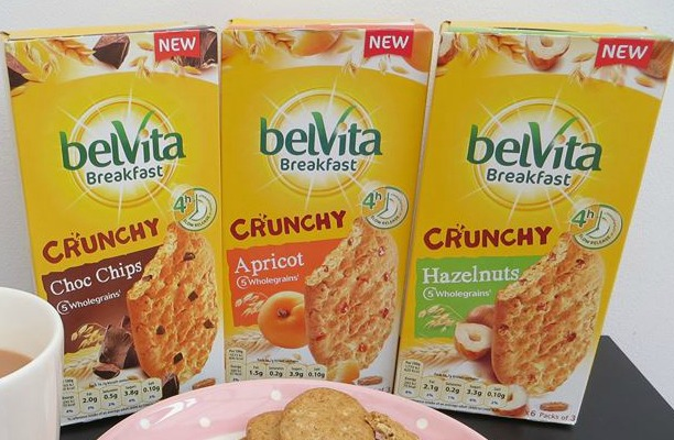 My #MorningWin with belVita Breakfast Biscuits