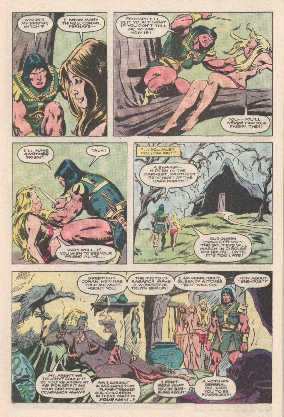 Conan the Barbarian (1970) Issue #180 #192 - English 9