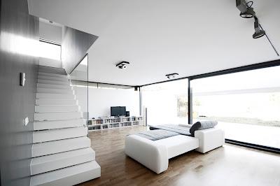 interior rumah minimalis hitam putih
