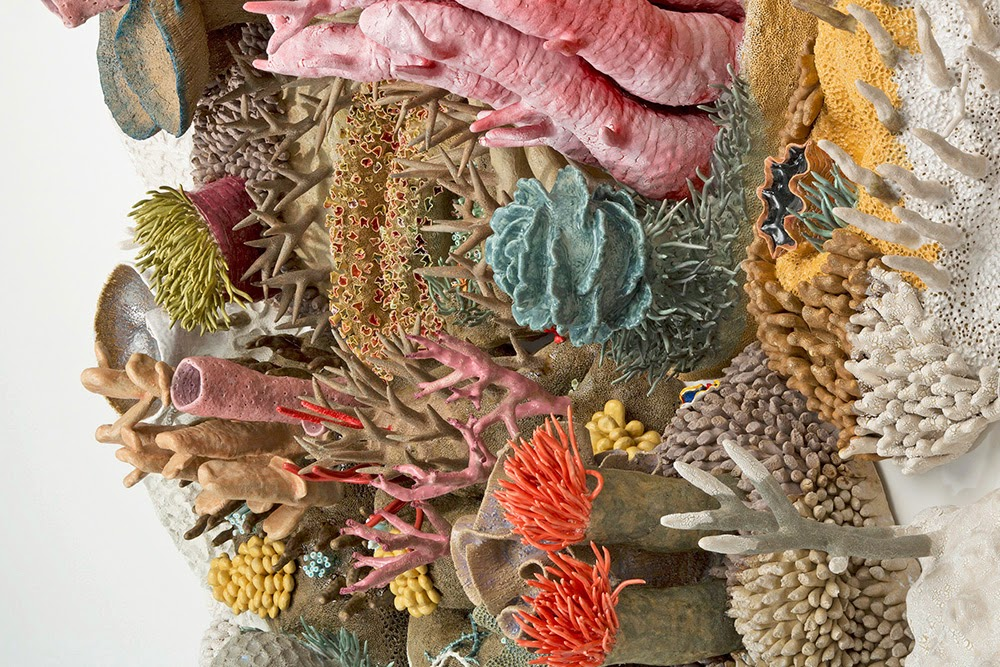 Simply Creative Ceramic Coral Reef By Courtney Mattison
