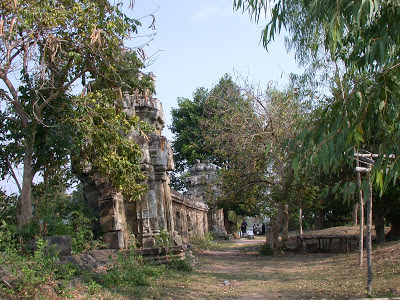 West Mebon temple ruins, West Baray