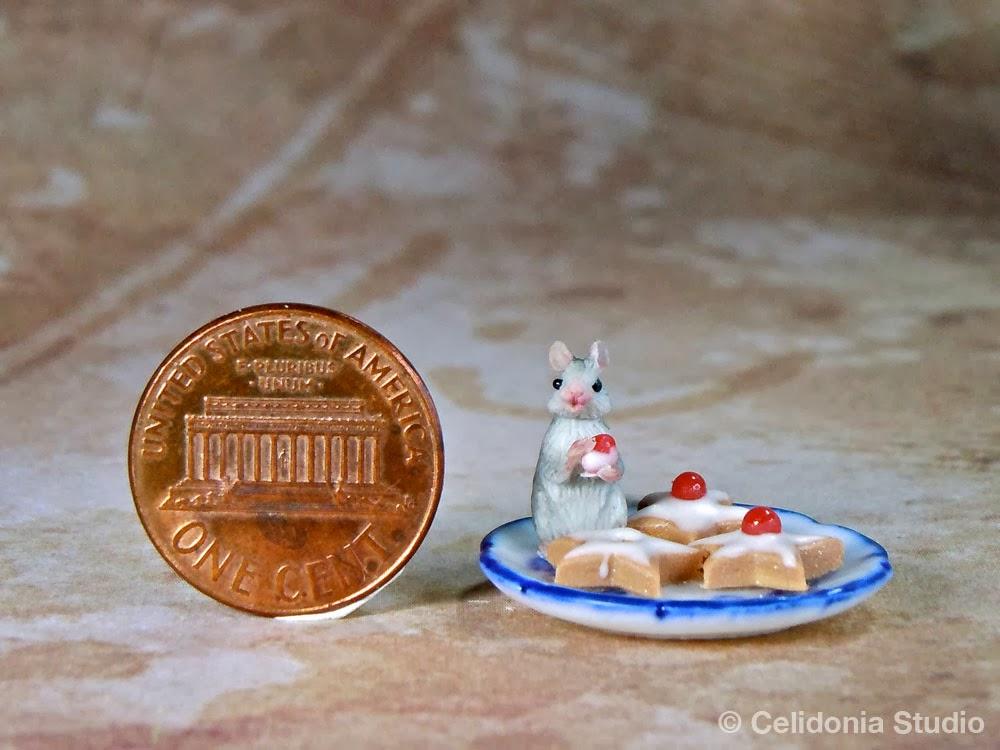 Topino in miniatura di Celidonia