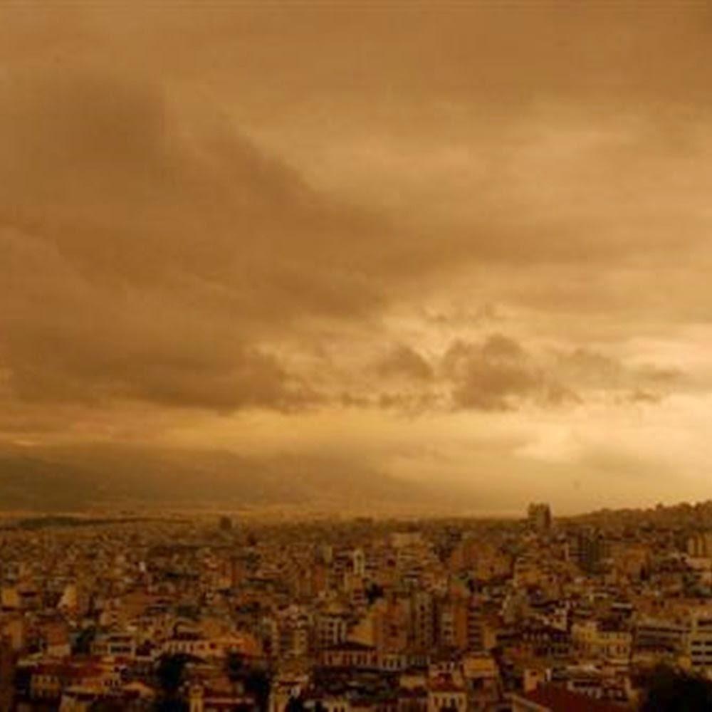 Δεν αρχίσαμε καλά Αλέξη! Βροχές, καταιγίδες και πάρα πολύ σκόνη από την Σαχάρα