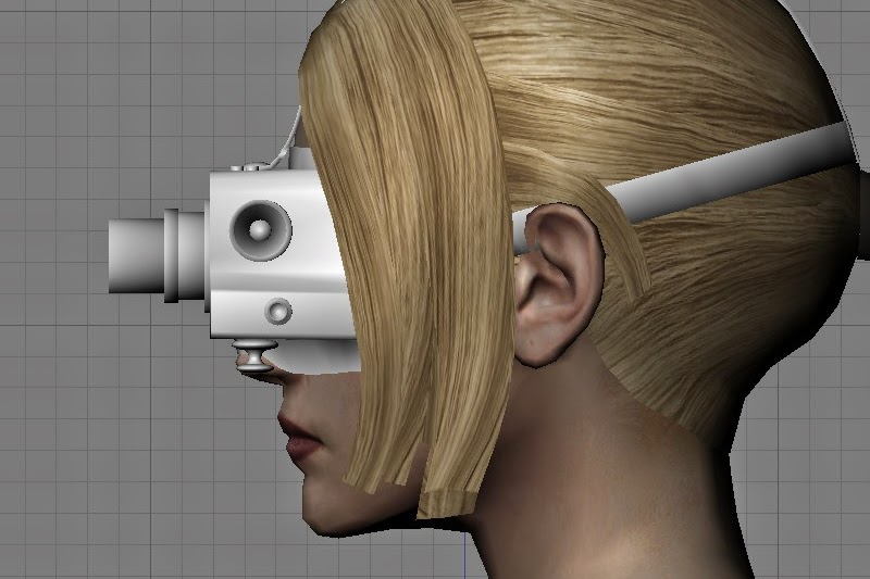 PVS-5 night vision goggles side Nina Williams
