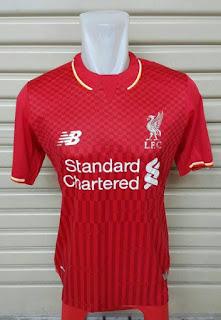 enkosa sport toko online jersey terbaru Baju bola Liverpool home New Balance musim 2015/2016