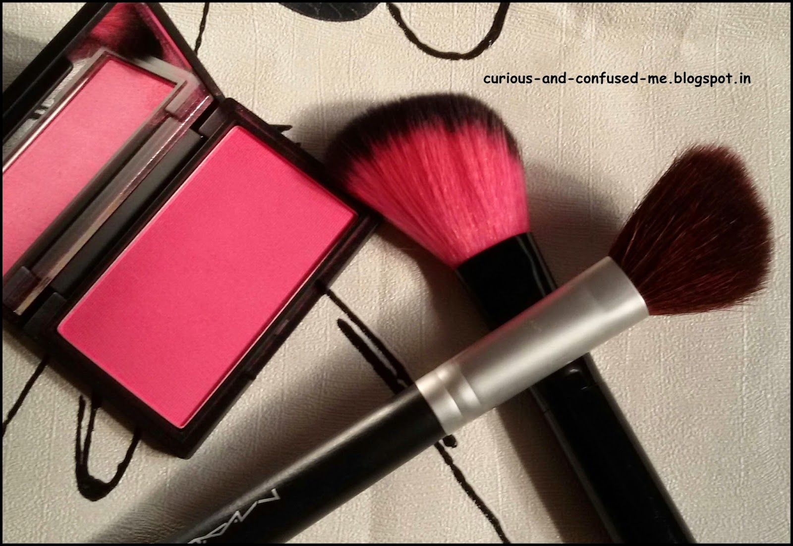 How to wear pigmented blush without getting  clown cheeks