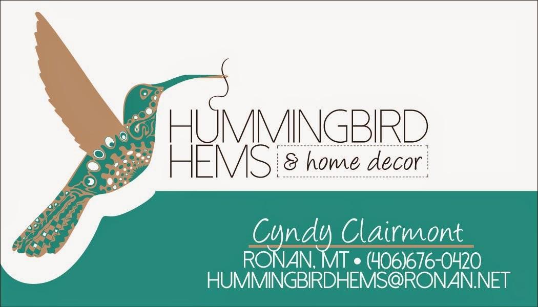 Hummingbird Hems & Home Decor