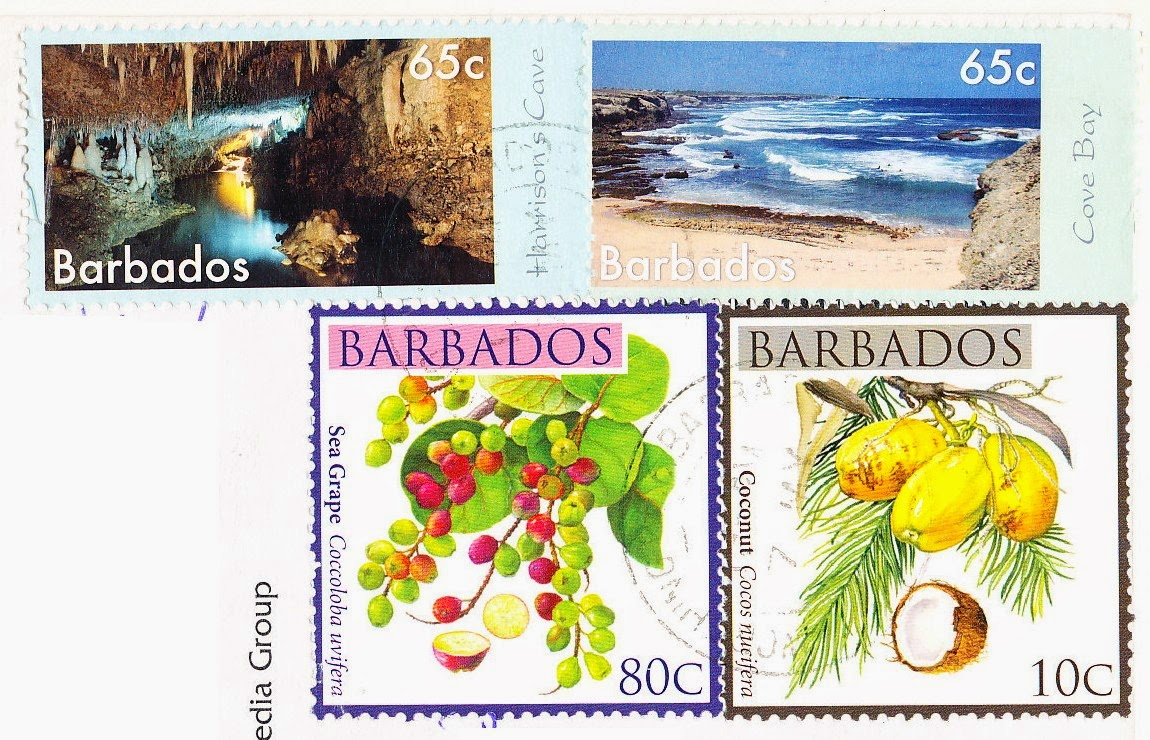 stamps, cave, barbados, beach