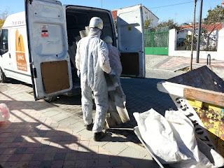 Descontaminación de amianto en Córdoba