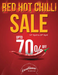 Hot Sales at Casablanca