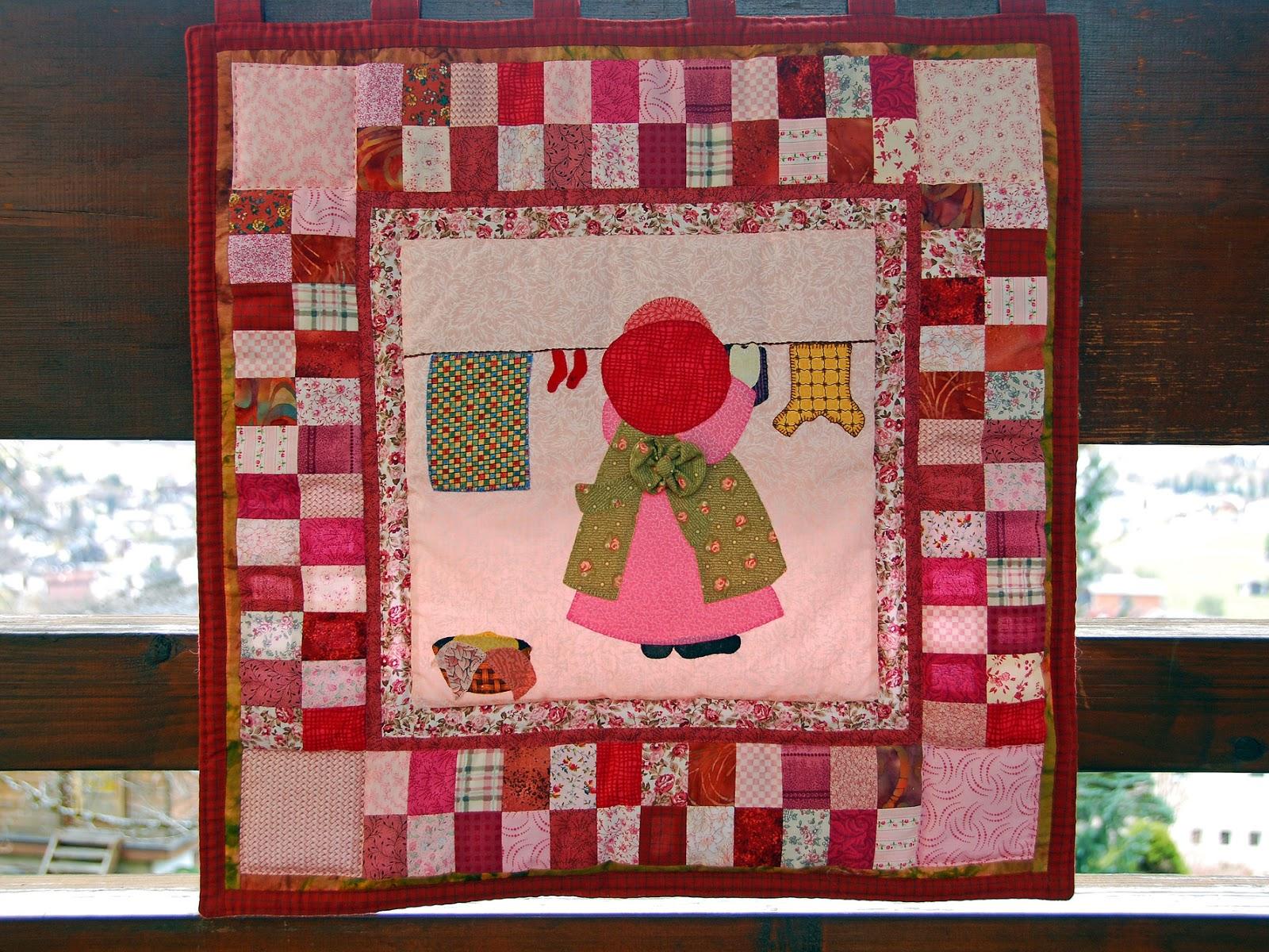 My own specials patchwork wandbehang - Wandbehang patchwork ...