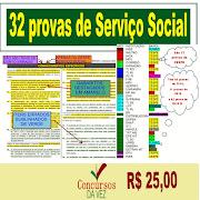 32 provas Serviço Social