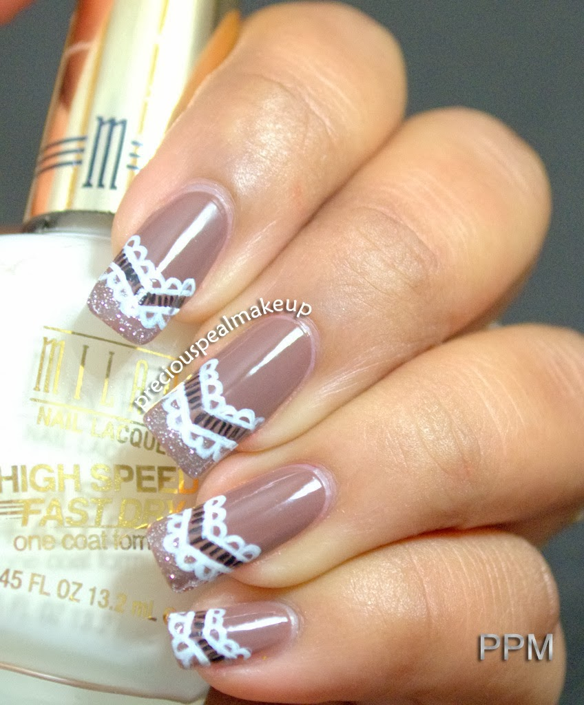 Preciouspearlmakeup Lace Pattern Nails