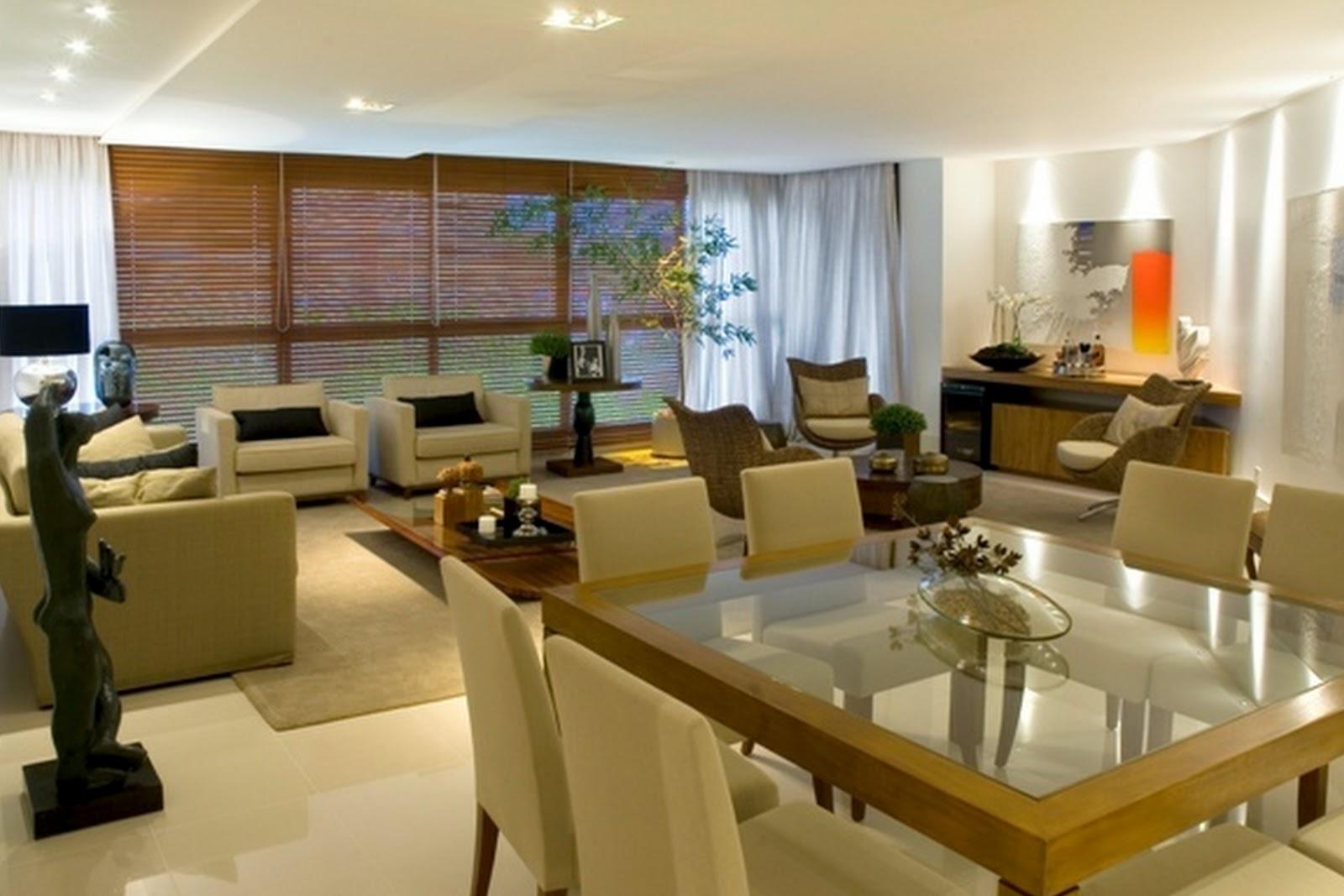 #AA6521 sala pequena de estar e jantar juntasIdéias de decoração para casa 1600x1067 píxeis em Decoraçao De Salas De Estar Grandes
