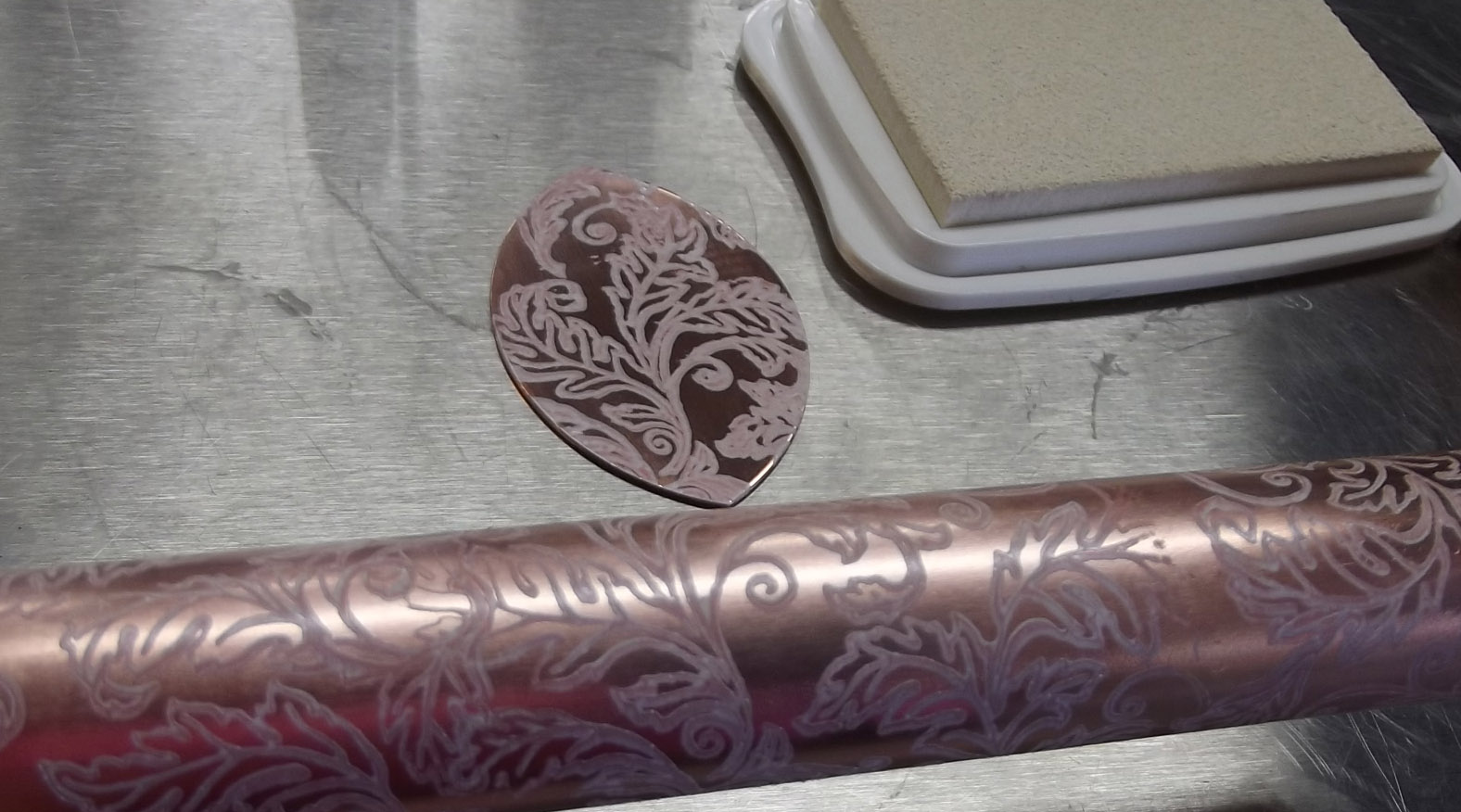 Deborhread Com Etching Copper Pipe