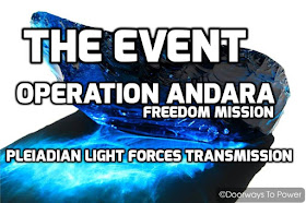 MICHAEL LOVE: 💙 * DAS EVENT - OPERATION ANDARA * 💙 PLEIADISCHE LICHTKRAFTÜBERTRAGUNG 1292019