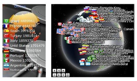 Publicidad no deseada en el blog gracias a contadores en gadgets en nuestros blogs en Blogger