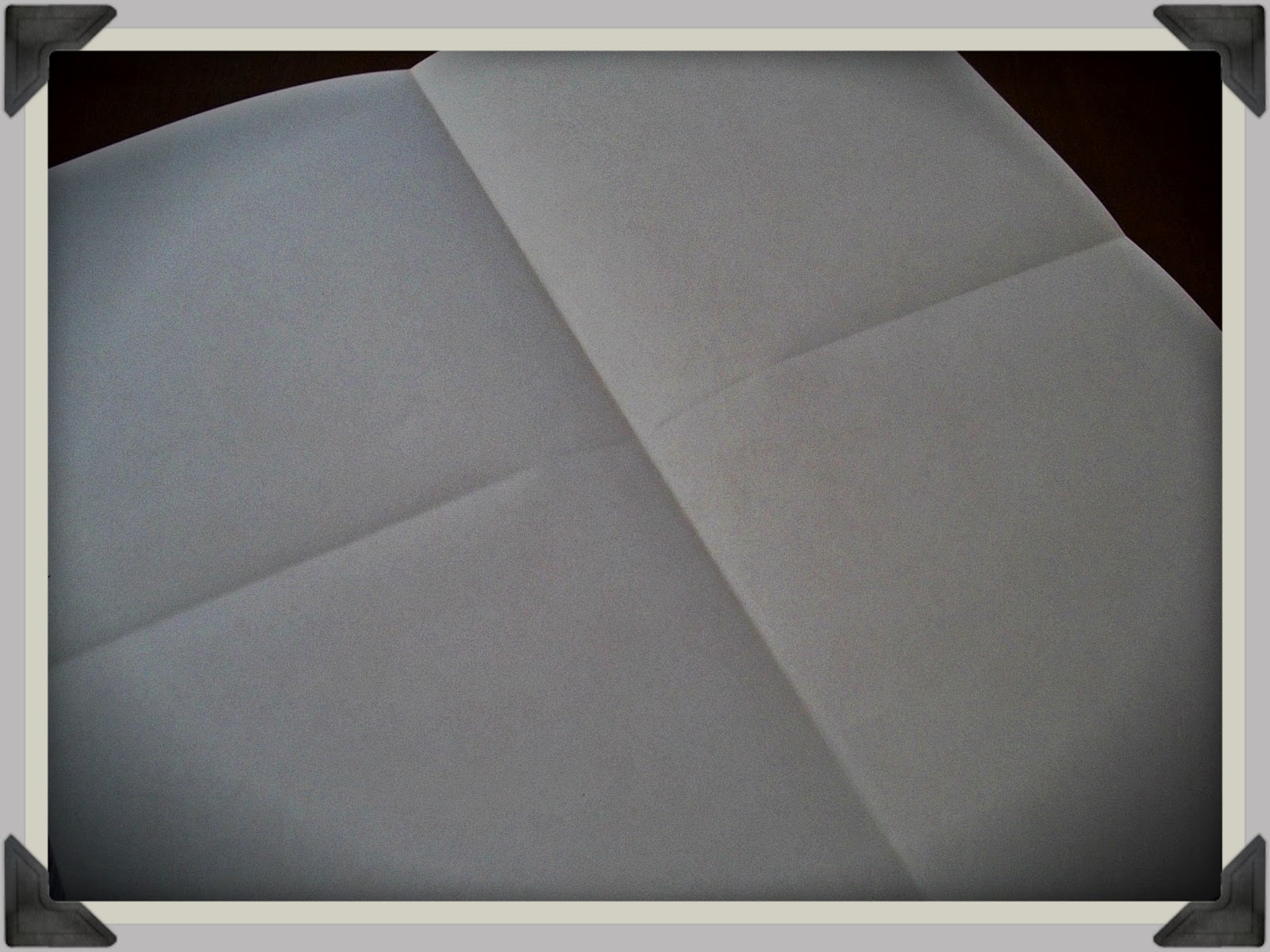 Scrapbook paper envelope - Step Two Lay Your Paper Pattern Side Down Then Proceed To Fold It Hamburger Style And Hotdog Style For Lack Of Better Terms