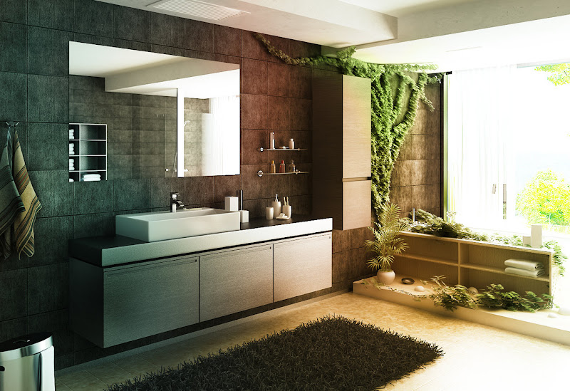 Today is all about incredible bathrooms whether in the home or in a  title=